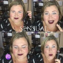 Sensual: Deep Maroon