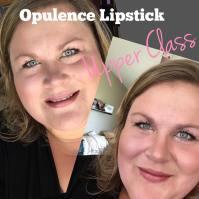 Opulence Lipstick: Upper Class - Rose Shimmer